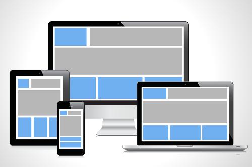Webdesign avec un responsive design
